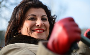 Funda Müjde is ambassadeur van Dwarslaesie Organisatie Nederland!