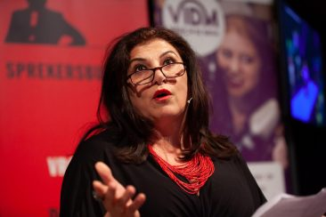 Spoken Column tijdens de Media Award 2018 van ZijSpreekt in Hilversum